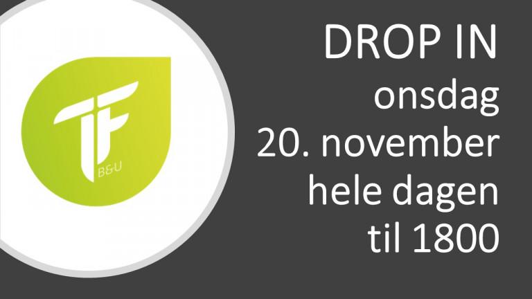 DROP IN 20.11.2019